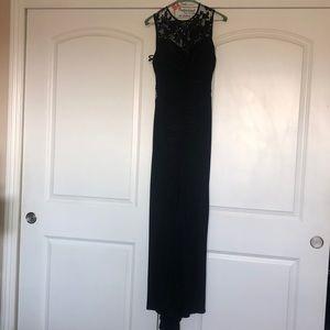 Black spark formal dress